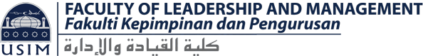 FACULTY OF LEADERSHIP & MANAGEMENT USIM Logo